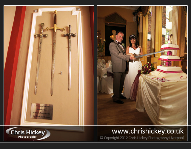 The Alicia Hotel Sefton Park, Cutting the wedding cake
