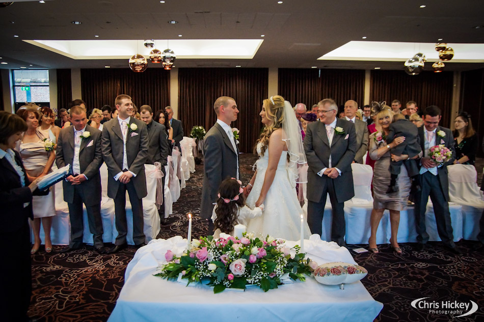 Crowne Plaza Hotel Liverpool Wedding Ceremony