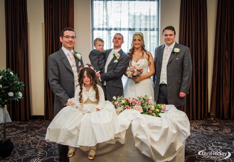 Wedding Ceremony at Liverpool Crowne Plaza Hotel City Centre