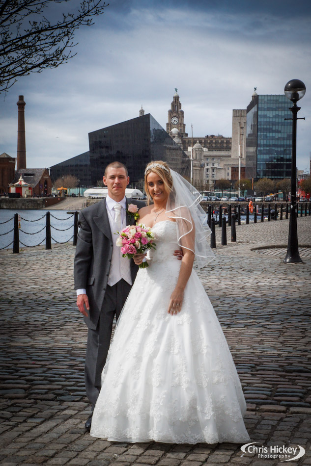 Wedding Photography at Liverpool Waterfront