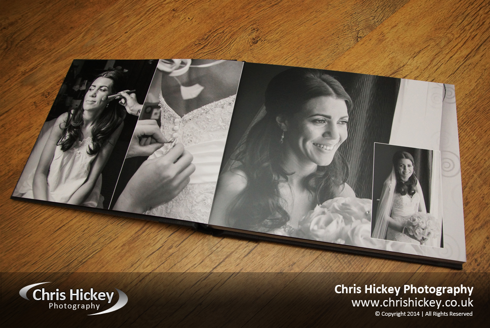 Acrylic Ice Storybook Wedding Album