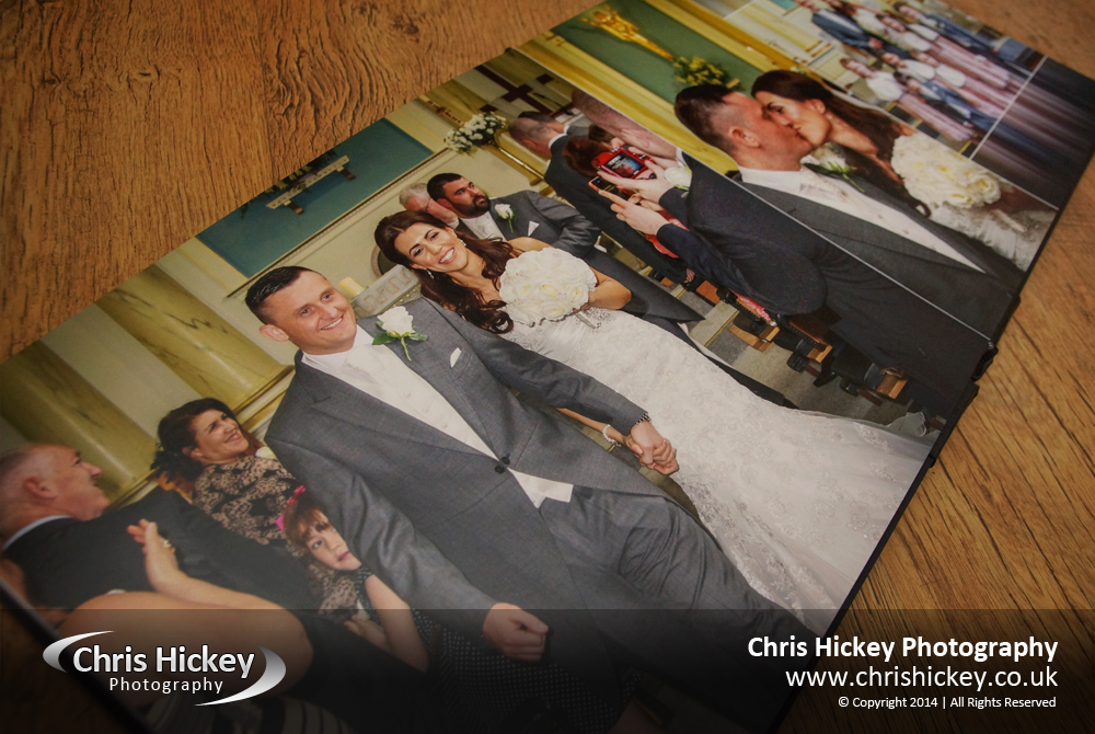 Acrylic Ice Storybook Album, Weddings
