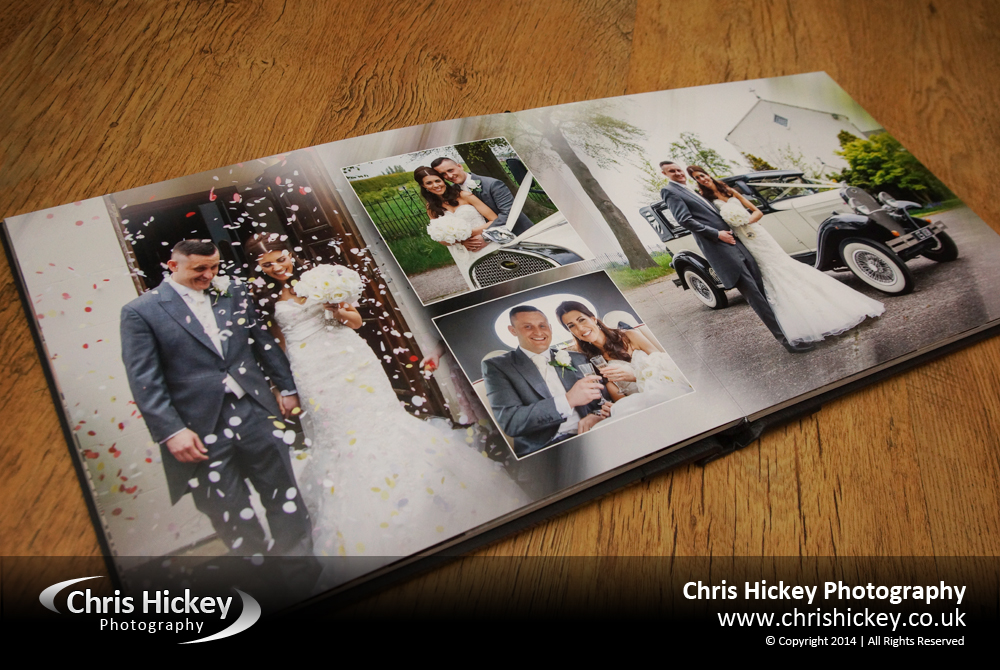 Storybook Wedding Album, Acrylic Ice Cover