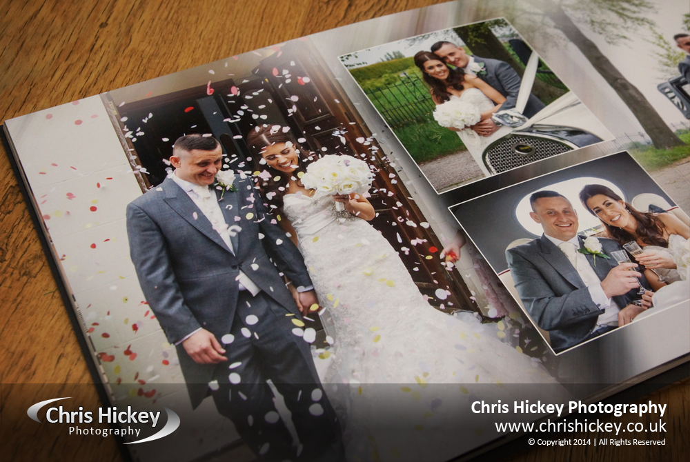 Acrylic Ice Storybook Album, Wedding Photography