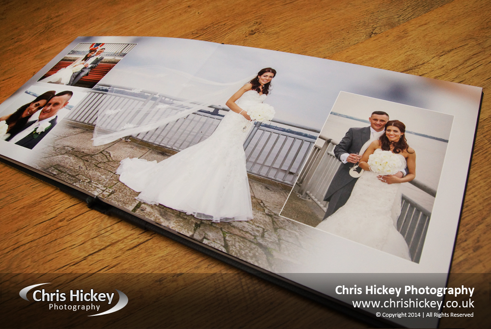 Storybook Album at Liverpool Marina Wedding