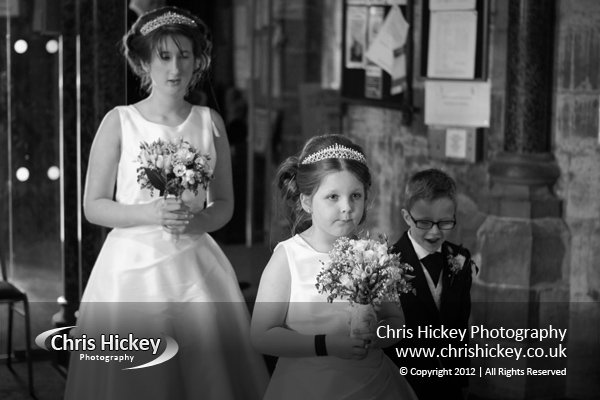 Wedding at St.Margaret's Church Bodelwyddan