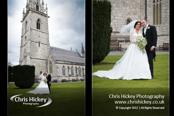 Wedding Photography from The Marble Church Bodelwyddan