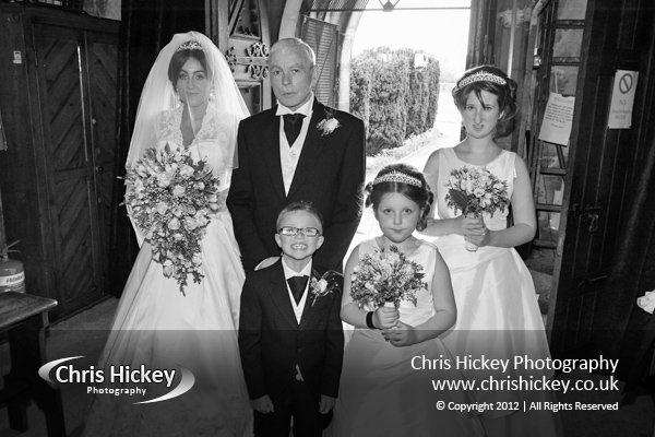 Wedding Photographer Bodelwyddan Marble Church