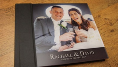 Wedding Albums - Acrylic Storybook Wedding Album