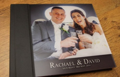 Wedding Albums - Acrylic Storybook Wedding Album