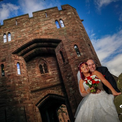 Wedding at Peckforton Castle in Cheshire