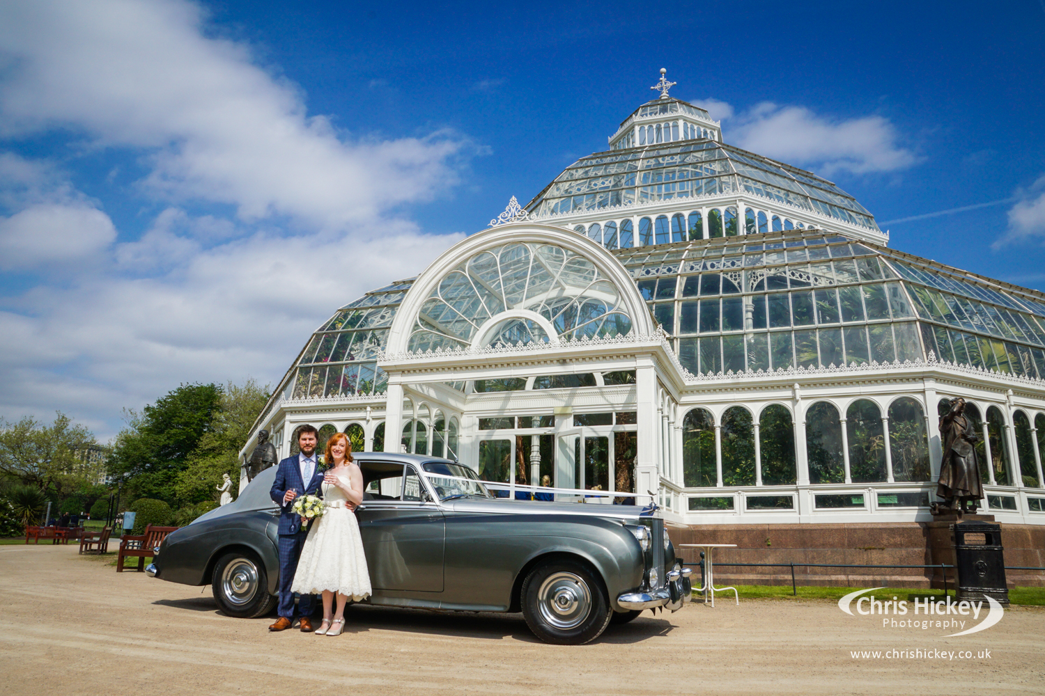 The Palm House Sefton Park, Liverpool Wedding Photographer