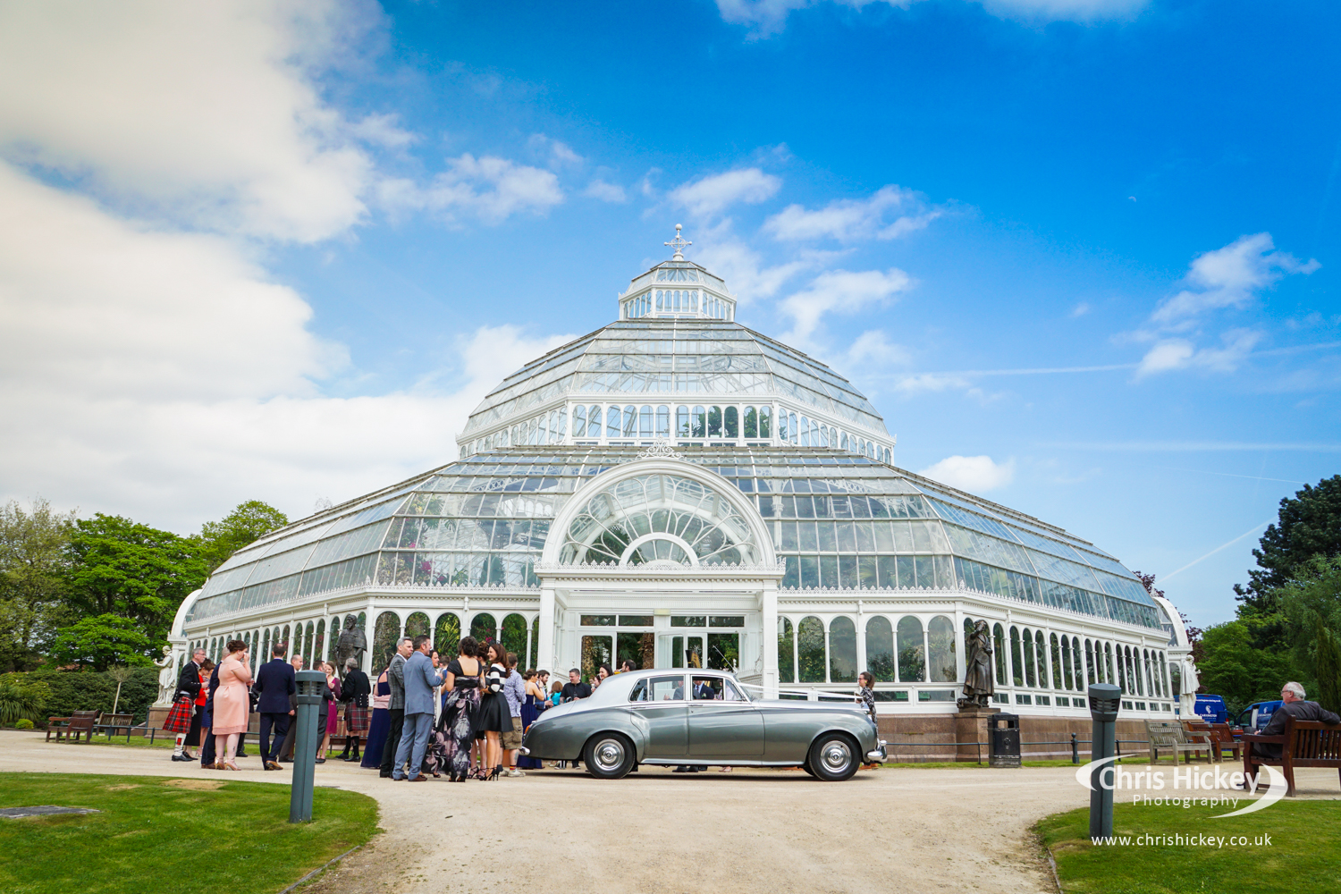 Liverpool Wedding Photographer at The Palm House Sefton Park
