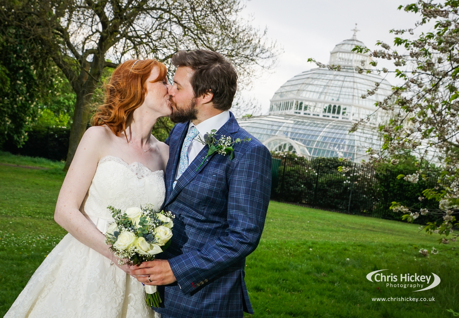 Wedding Photography at Sefton Park Palm House