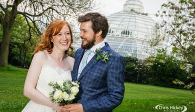 Wedding at Palm House Sefton Park