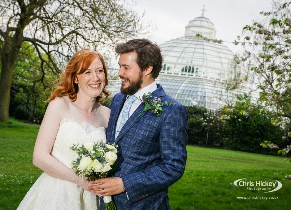 Wedding at Palm House Sefton Park