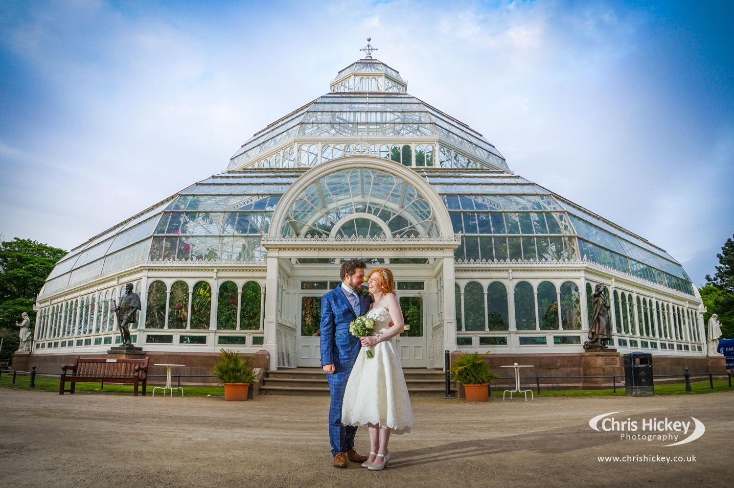 Wedding at The Palm House, Sefton Park Wedding Photography
