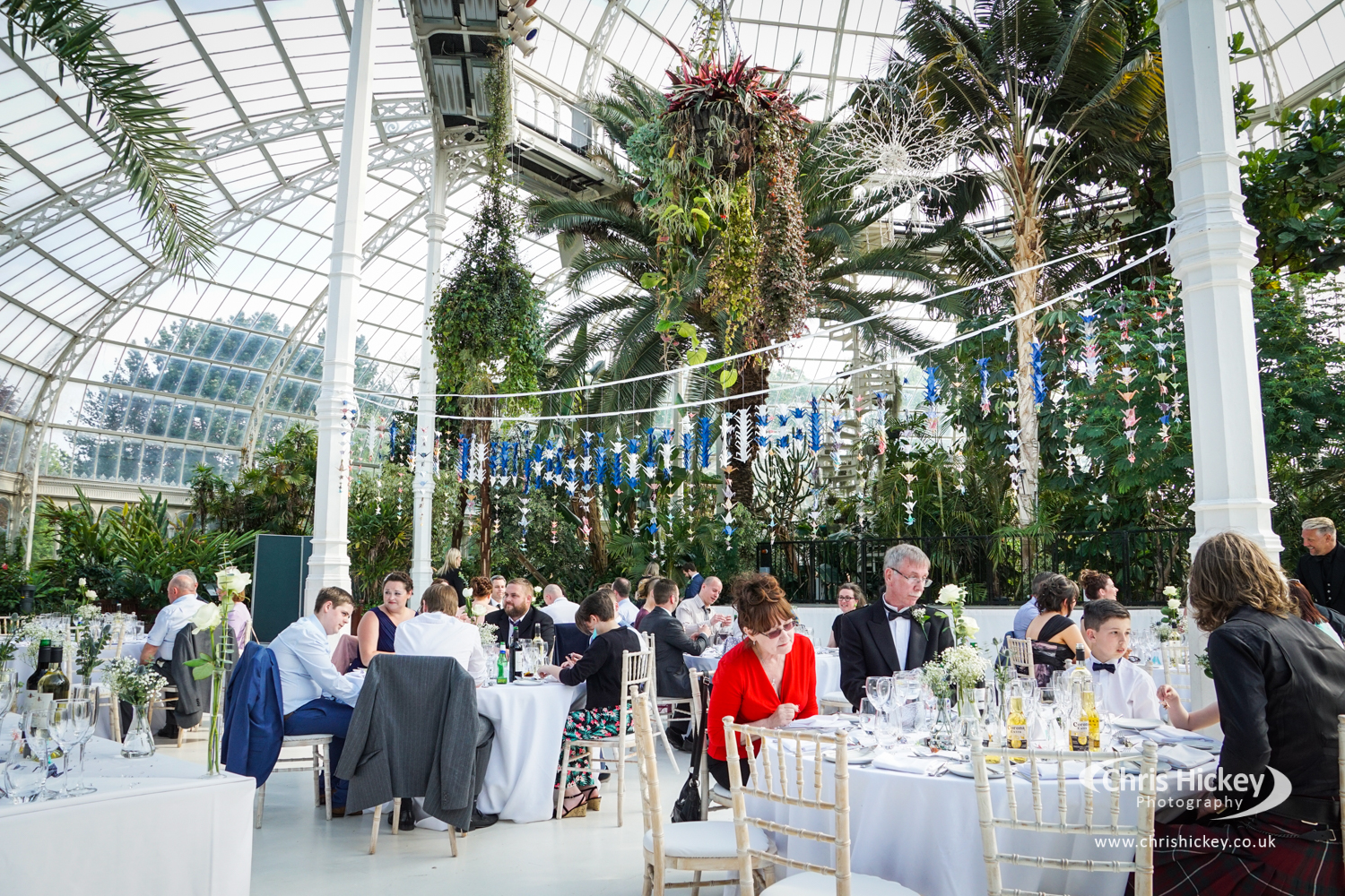 Wedding Photography at The Palm House in Liverpool