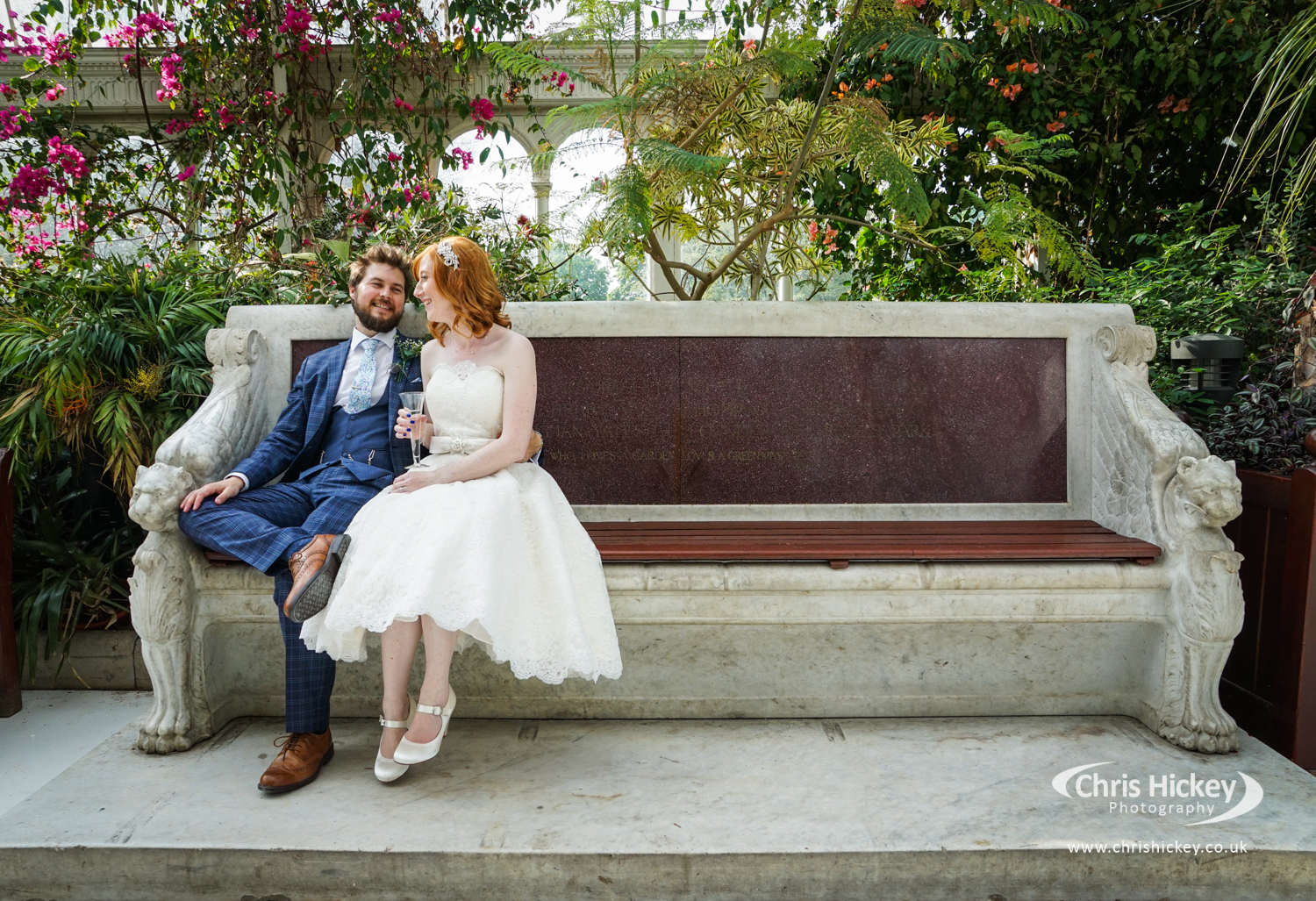 Liverpool Wedding Photographer, Sefton Park Palm House