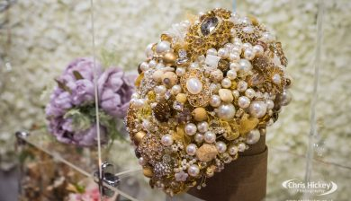 Wedding Flowers and Crystal Bouquets