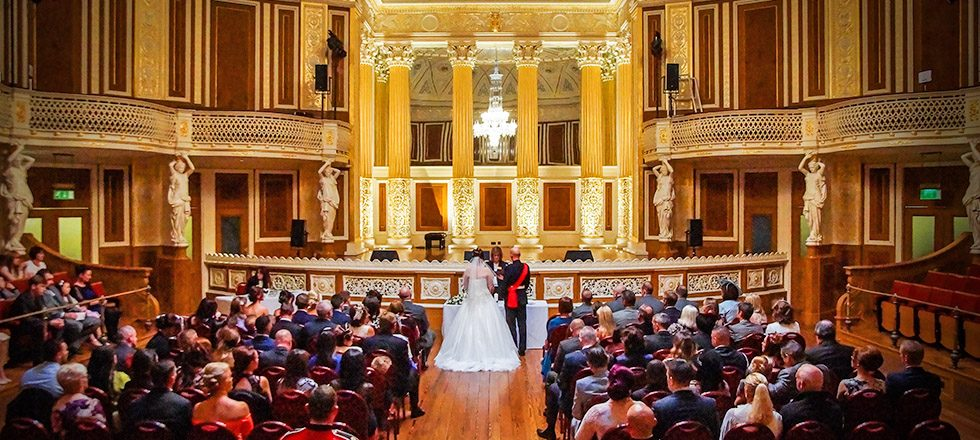 Wedding Photographer in Liverpool Captures St George's Hall, Wedding Venue in Liverpool