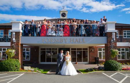 Wedding Photography at Formby Hall Golf Resort and Spa