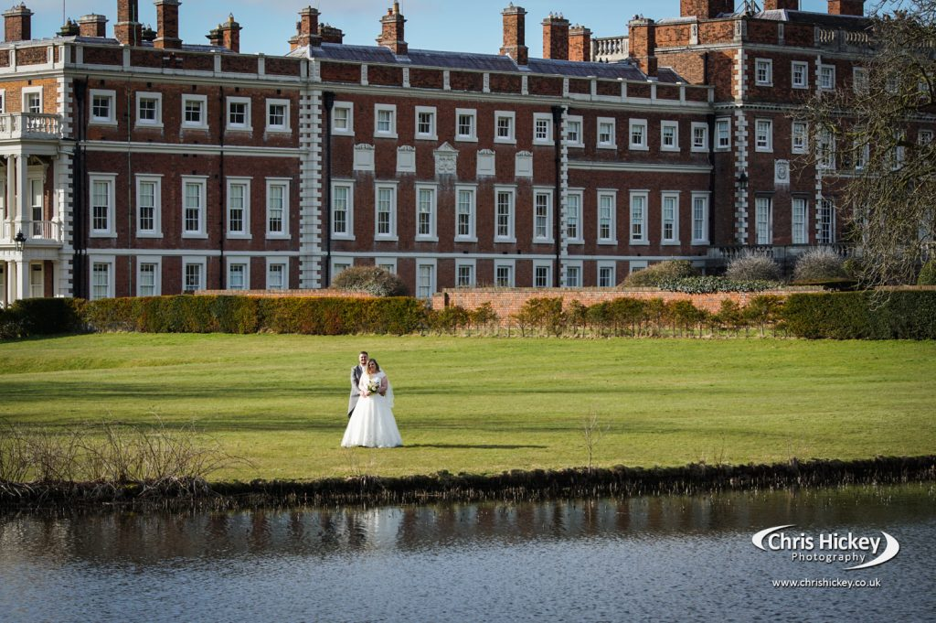 Wedding at Knowsley Hall